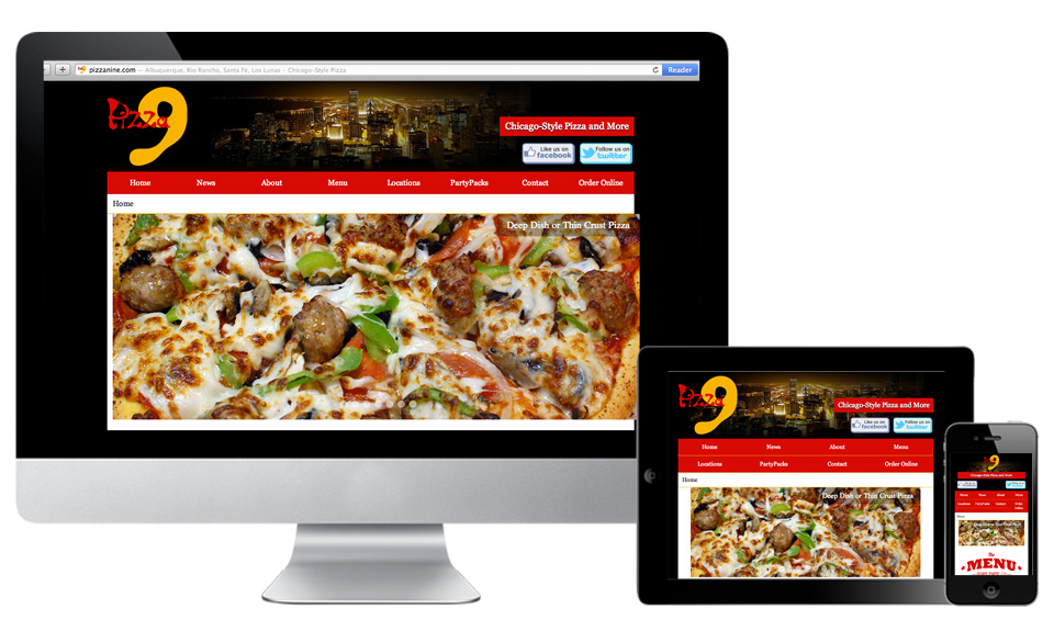 Pizza9-ResponsiveWebsite