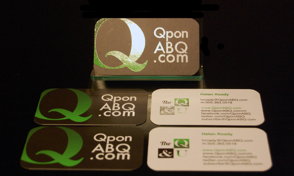 QponABQ Business Card Design