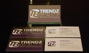 TrendzBeauty-Business Card Design